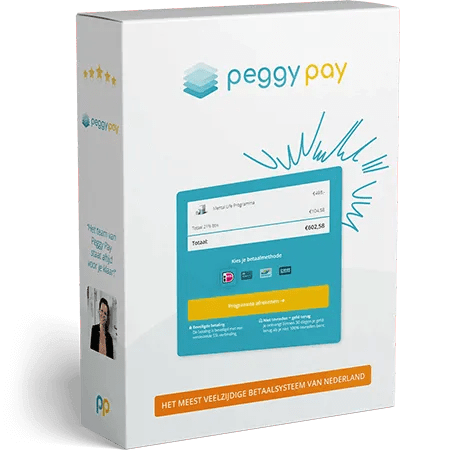 Software pakket Peggy Pay betaalpagina - Peggy Pay
