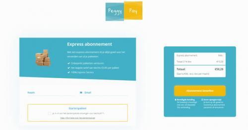 Release update - abonnementen en mailcampagne tags - Peggy Pay