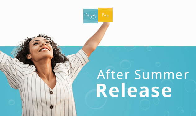 Blog - After summer release - Peggy Pay