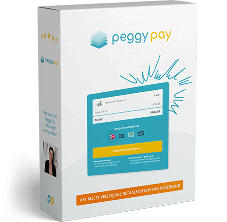 Meld je gratis aan en start vandaag nog met je iDeal betaalpagina! - Peggy Pay